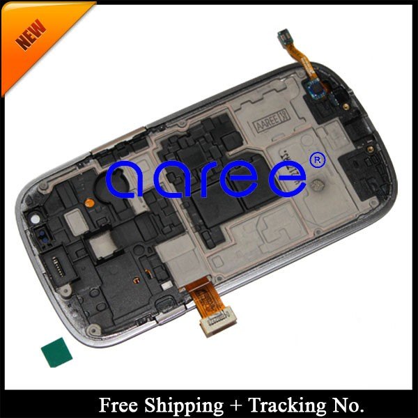 For Samsung Galaxy S3 mini i8190 LCD Screen Assembly With Frame -detail