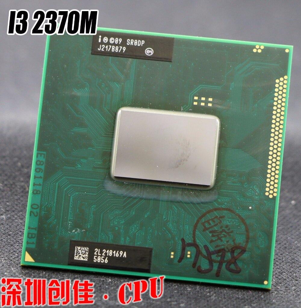 Процессор Intel original Core I3 2370 м Процессор Ноутбук Core i3-2370M 3 м 2,40 ГГц SR0DP Поддержка процессоров HM65 HM67