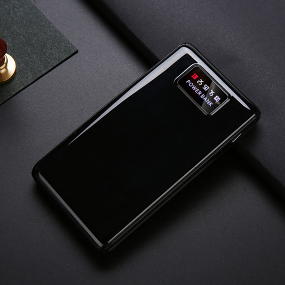 Бесплатный сварочный внешний аккумулятор корпус ЖК-экран цифровой дисплей зарядное устройство DIY модуль питание от 6x18650 батареи (не входят ...