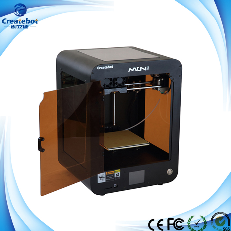 Createbot - Black Full Metal FDM 3D Modeling Printer createbot black full metal fdm 3d modeling printer