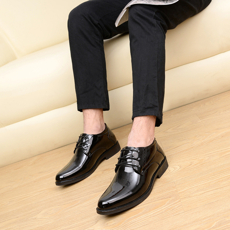 Italien Hommes Luxe N Mens Bureau Mariage 3900 with Velvet Designer Noir 3895 Mode Appartements ° De Nouvelle Cuir 2018 Véritable Formelle Chaussures Robe En qTt6q7wx