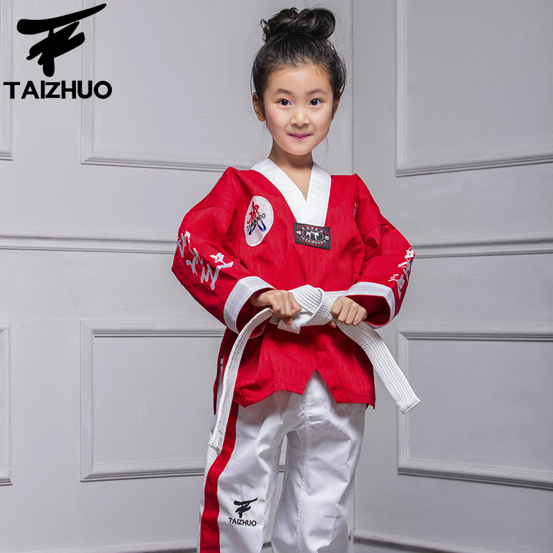 ФОТО  harmless doboks children of men and women doboks red TKD functional fabric performance training service