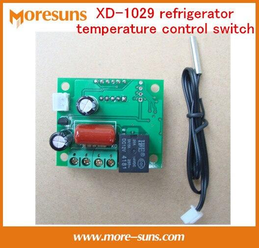 220 V 5A XD-1029 refrigerador interruptor de control de temperatura, pantalla ajustable controlador de temperatura/termostato de control