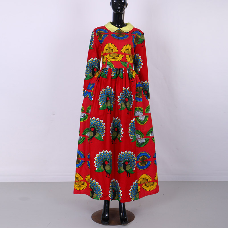 Limited Clearance Special Sale African Print Dresses for Women Bazin Riche Splice Wax Co ...