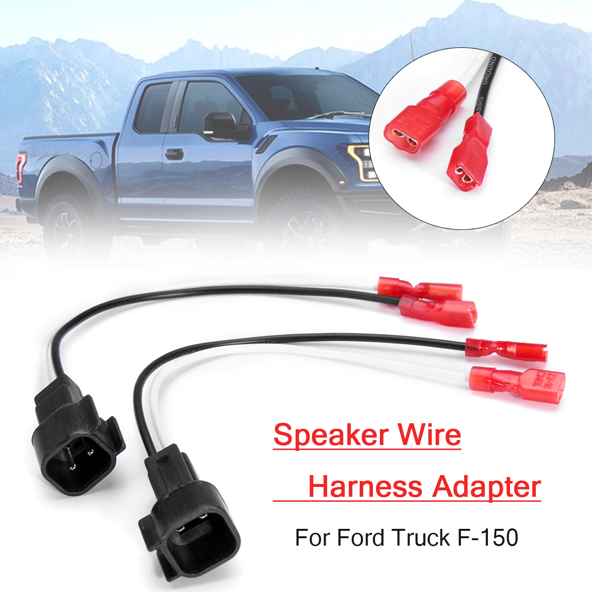 medium resolution of radio speaker wire harness adapter plug metra 72 5600 for ford truck f 150 in cables adapters sockets from automobiles motorcycles on aliexpress com