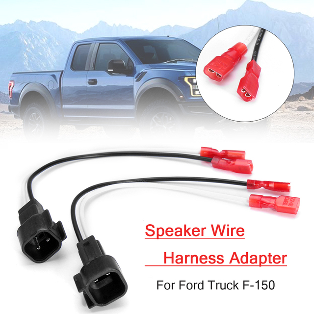 radio speaker wire harness adapter plug metra 72-5600 for ford truck f-150