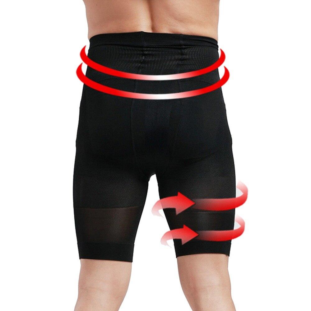 Hot Men Slim Shorts Body Shaper Fitness Slimming Leggings Shorts Mens Bodysuit Waist Corsets For Men Boxer Pants