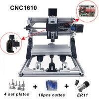 CNC 1610 с ER11, гравировальный станок с ЧПУ, мини pcb фрезерный станок, резьба по дереву, ЧПУ, cnc1610, самые передовые игрушки