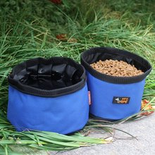 Pet bowl dog portable bags of food pet bowls water cat section