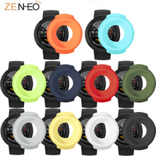 Sport Silicone Protector Case for Xiaomi Huami Amazfit 3 Verge Watch Protective Shell smart watch Accessories