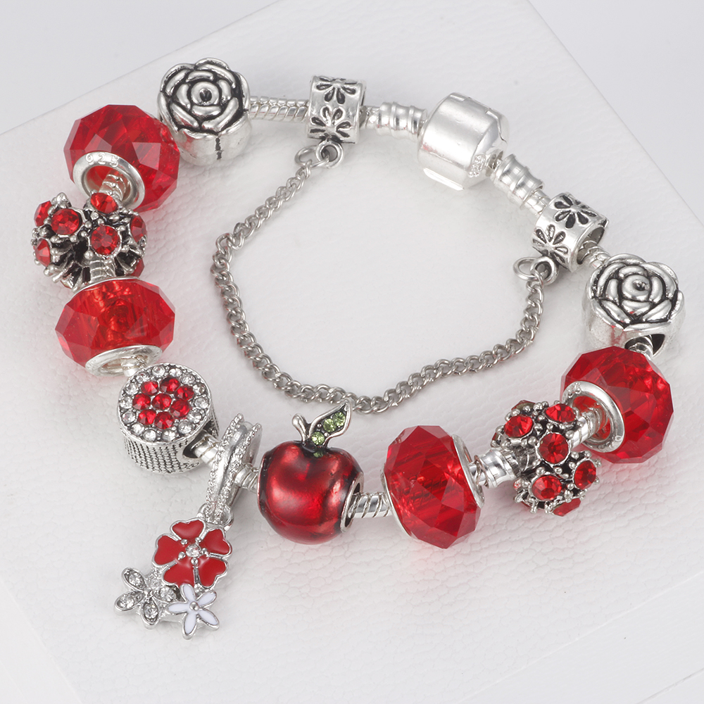 Flower Beads Bracelet Images