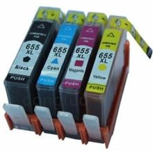 Принтер картриджи с чипом для 655 совместимый для deskjet 3525 5525 4615 4625 4525 6520 6525 6625 для hp655 CZ109AE