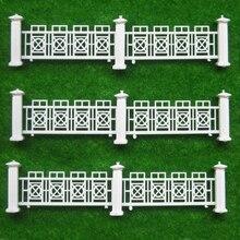 Teraysun 1M plastic miniature model guardrail garden railing hedge material outdoor landscape