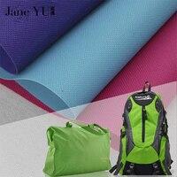 JaneYU 91.4*148cm 600D Oxford Polyester Fabric For Bag, Tent Cloth Diy Materials,Waterproof Tarpaulin Black Textile Bags Textile