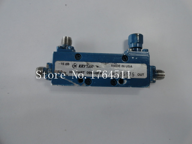 [BELLA] Krytar 0955-0098 2-8.6GHZ -16dB RF Directional Coupler SMA