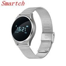Smartch M7 смарт-браслет сердечного ритма Приборы для измерения артериального давления Мониторы здоровья трекер спортивный браслет Бизнес SmartBand Bluetooth Фитнес WRIS