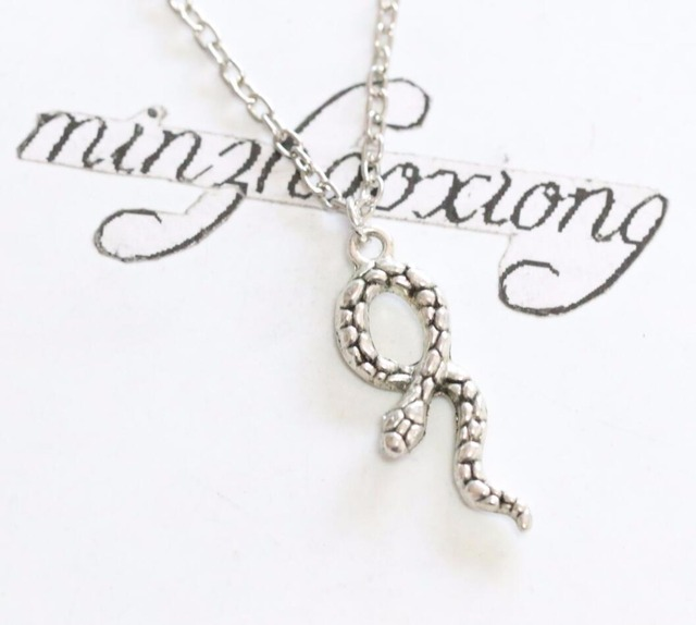 New fashion jewelry silver snake necklace animal pendants necklaces new fashion jewelry silver snake necklace animal pendants necklaces wiccan pagan vintage collar statement aloadofball Gallery