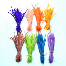 20pcs/lot natural Goose feathers for headdresses 15-20cm colorful hair feathers for crafts Party decoration DIY jewelry  plumes 15 20cm high quality whitel goose feather for diy colorful feather decoration wedding feathers for crafts accessories plumes