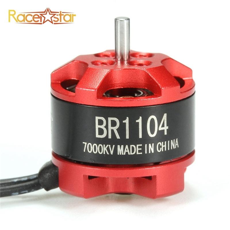Racerstar 1104 BR1104 7000KV Racing Edition 1S-2S Brushless Motor For RC Multirotor 100 120 150 Frame For Racing RC Drones Kit best deal 4pcs racerstar racing edition