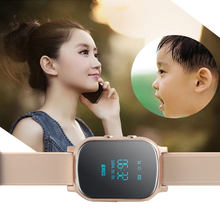 OLED Precise GPS Baby Smart Watch T58 support GPS WIFI SOS LBS Locate Finder emergency call GPS smartwatch T58 for children gift(China)