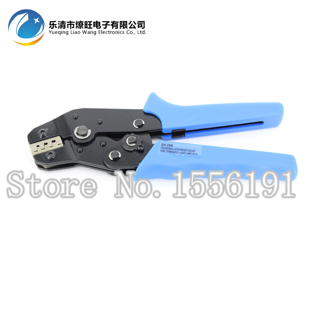 Hand Wire Crimping Pliers SN-28B Terminal Clamp Pliers Wire Cutting Mould Crimping Tool 28-18AWG,crimping Plier 0.25-1 Mm2