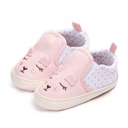 Обувь для маленьких девочек с рисунком животных, детская обувь, нескользящая детская кроватка, обувь для малышей 0-18 MonthsY13