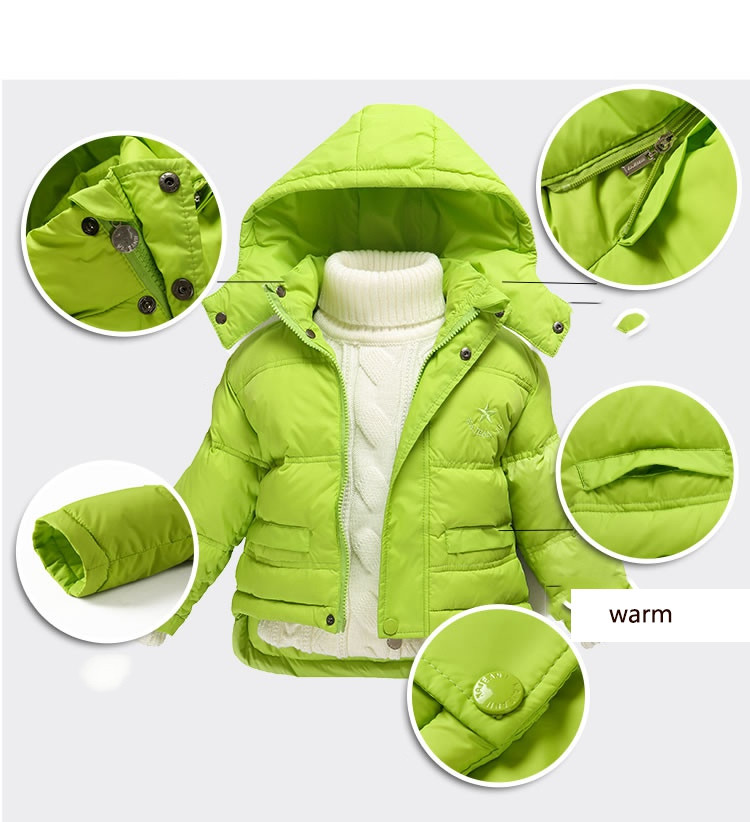 Fashion 80% Eiderdown Baby Girl Winter Coat Newborn Snowsuit For Baby Boys Duck Down Outerwear Clothes For Children Jackets (12)