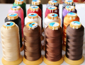 Wholesale DIY leather tool 210D nylon thread strengthen 6 strands leather thread coffee thread