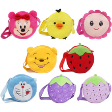 New Cartoon Baby mouse plush backpack Toy mini Coin Purses Children Handbags Kids Shoulder Bags Gifts