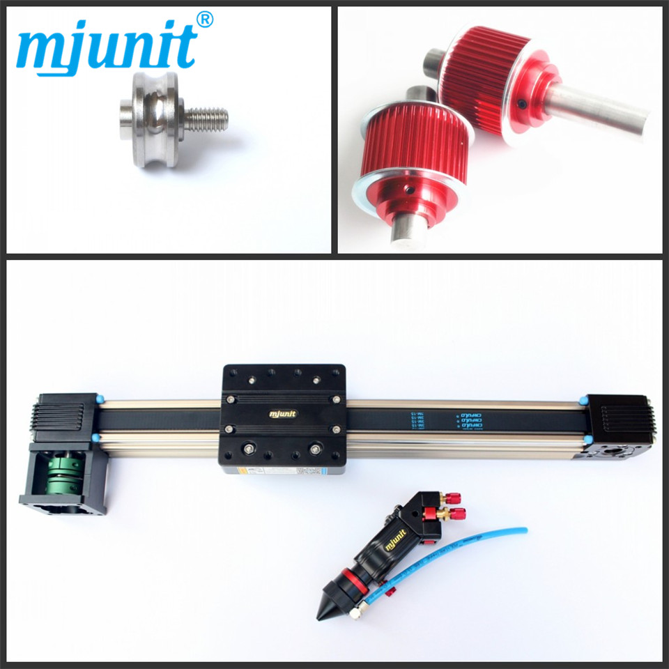 Guide Actuator Size 23 Motor Mount Aluminum linear guide rail toothed belt drive motorized stepper motor precision guide rail manufacturer guideway