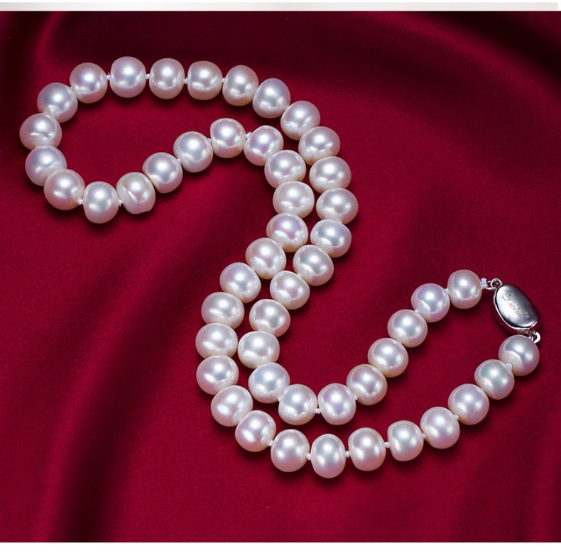 natural pearl necklace  (24)