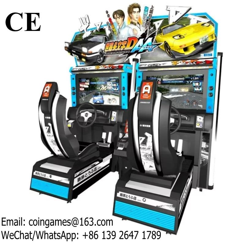 Initial D6 Amusement Equipment Coin Operated Arcade Driving Simulator Car Racing Games Machine