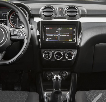 premium selection 4e9d1 67e75 US $48.86 8% OFF|Double Din Car Radio Fascia For Suzuki Swift 2018+ Console  Dash Kit DVD Stereo CD Panel Trim Facia Plate Face Frame Install Kit-in ...