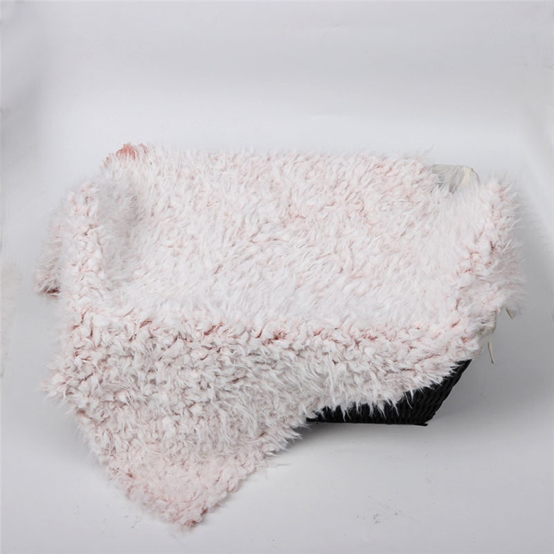 50 * 50cm Blanket Basket Stuffer Fur Photography Props Newborn Photography Props Sofa Bed Double Coral Plush Thicken Blanket syx 150504 1 75 50cm faux fur blanket basket stuffer mongolia fur photography props newborn photography props
