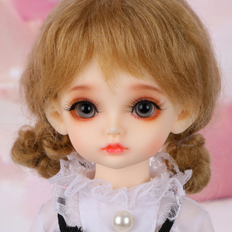 Full Set New Arrival 1/6 BJD Doll BEAUTIFUL  Resin Joint Doll With Glass Eyes For Baby Girl Kids Birthday GiftFull Set New Arrival 1/6 BJD Doll BEAUTIFUL  Resin Joint Doll With Glass Eyes For Baby Girl Kids Birthday Gift