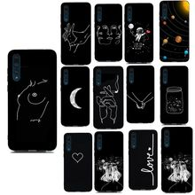 Cover For Huawei P30 Pro Case Luxury Silicon Love Print Case For Huawei P Smart P20 Lite Y6 2018 P9 P10 Lite 2017 P30 Phone Case(China)