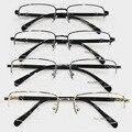 2015 Новый Продукт Человек Близорукость Очки Titanium Plate Frame Половина Titanium Frame Spectacle Frame