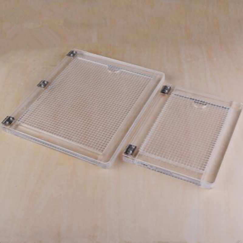 Notebook Type Acrylic Positioner Rubber Colour Process Device Transparent Acrylic Printing Positioner