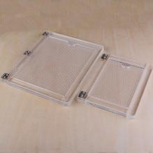 Notebook type acryl klepstandsteller rubber kleur proces apparaat transparant acryl afdrukken klepstandsteller