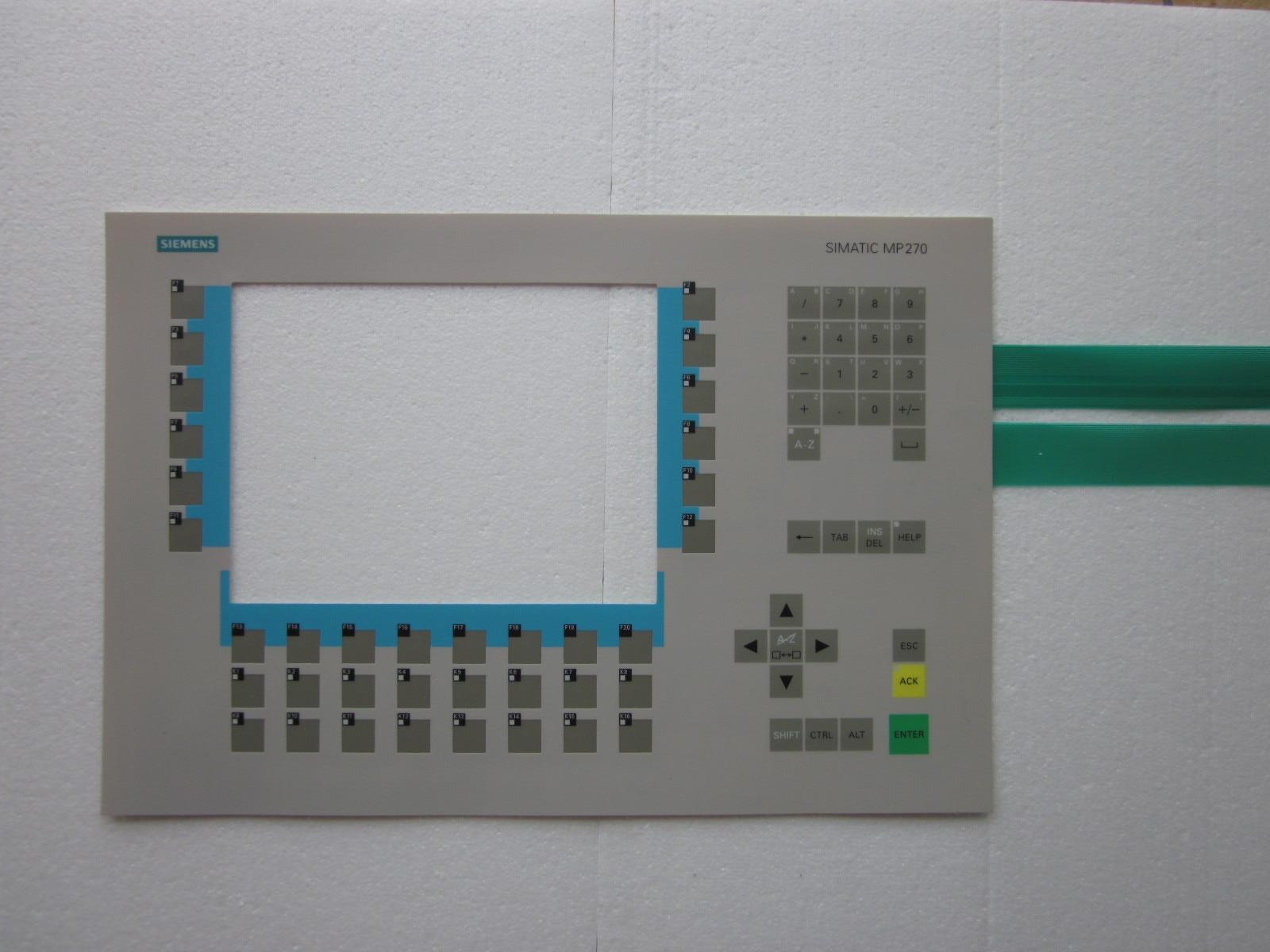 6AV6542 0AG10 0AX0 6AV6542 0AH10 0AX0 Membrane Keypad for HMI Panel repair do it yourself New