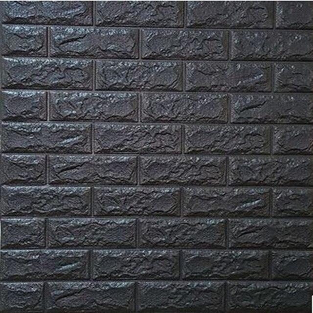 moderne vintage 3d brique tanche auto adh sif diy sticker mural panneau sticker fond d 39 cran. Black Bedroom Furniture Sets. Home Design Ideas
