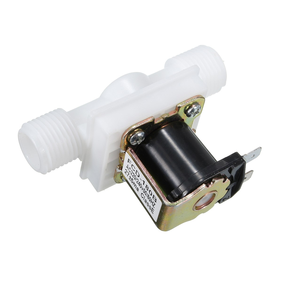 New Best Price 1Pcs AC220V Electric Solenoid Valve Magnetic N/C Water Air Inlet Flow Switch N/C 1/2