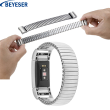 Metal watchstrap for Fitbit Charge 2 watch band replacement  stainless steel bracelet watchband for Fitbit charge2 wrist strap hot sale fabulous stainless steel watch band strap metal clasp metal frame for fitbit charge 2 wholesale no29