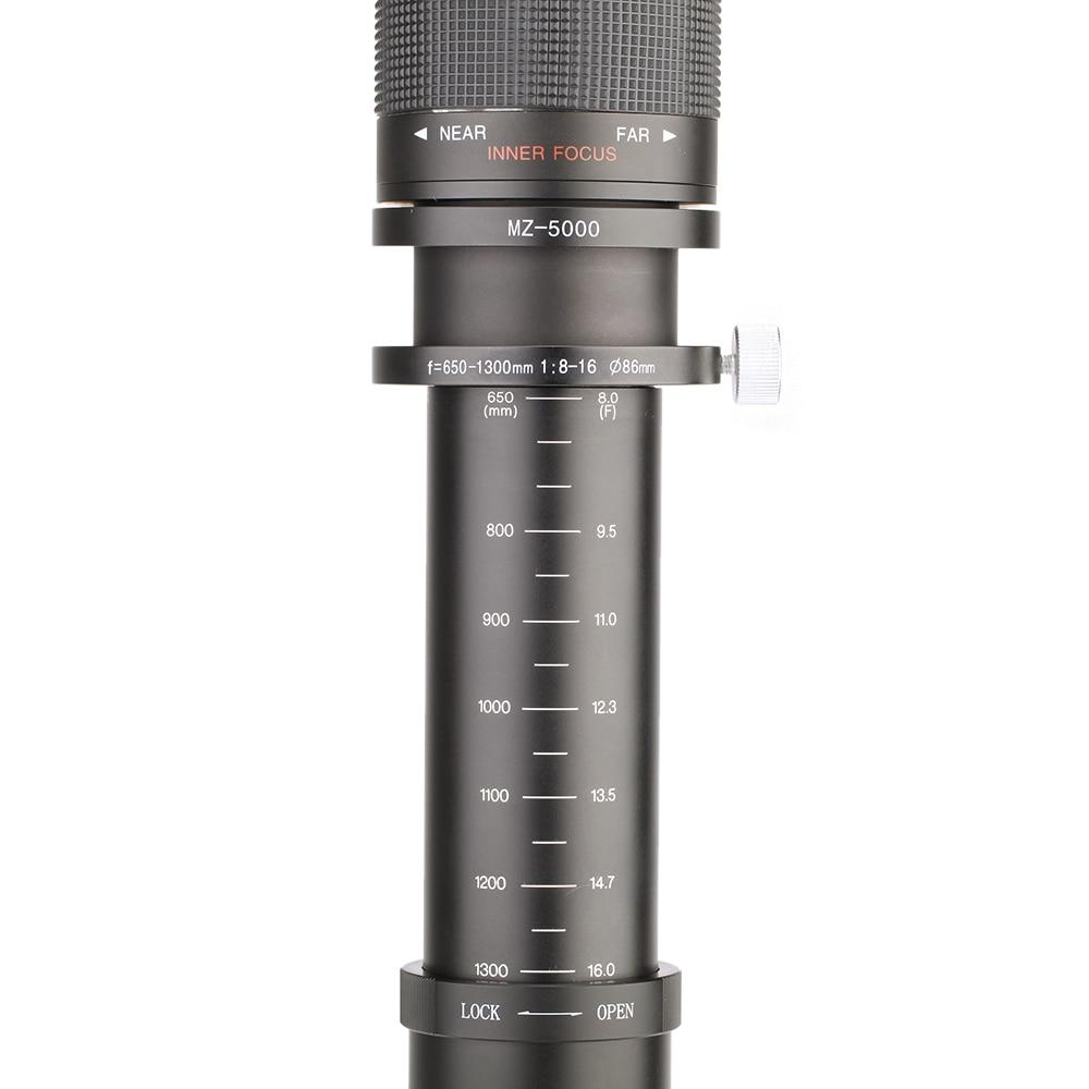 Lightdow 650-1300mm DSLR Kamera üçün T-Dəstəkli F8.0-16 Ultra - Kamera və foto - Fotoqrafiya 4