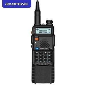 Image 2 - Baofeng DMR 5R ham 아마추어 양방향 라디오 vhf/uhf 듀얼 밴드 듀얼 타임 슬롯 워키 토키 1024 ch tier i & ii moto와 호환 가능