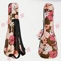 Hermosa guitarra ukelele mochila caso 21 23 24 26 pulgadas cubierta acústica concierto soprano Lanikai Mahalo Kala Luna Ukues rosa