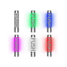 Acrohm FUSH nieuregulowanych pół-Mech rurka LED Mod z ACE układu zastosowanie ochrony wysoką przewodność elektryczną PC rury tanie tanio Tank Replacement Acrohm Fush Semi-Mech Mod Metal Electronic Cigarette Tank Vape