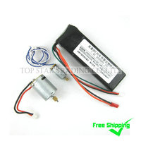 Free Shipping Sales Promotion MJX F45 F645 Spare Parts Accessories Combo 011 Motors Battery 2600mAh