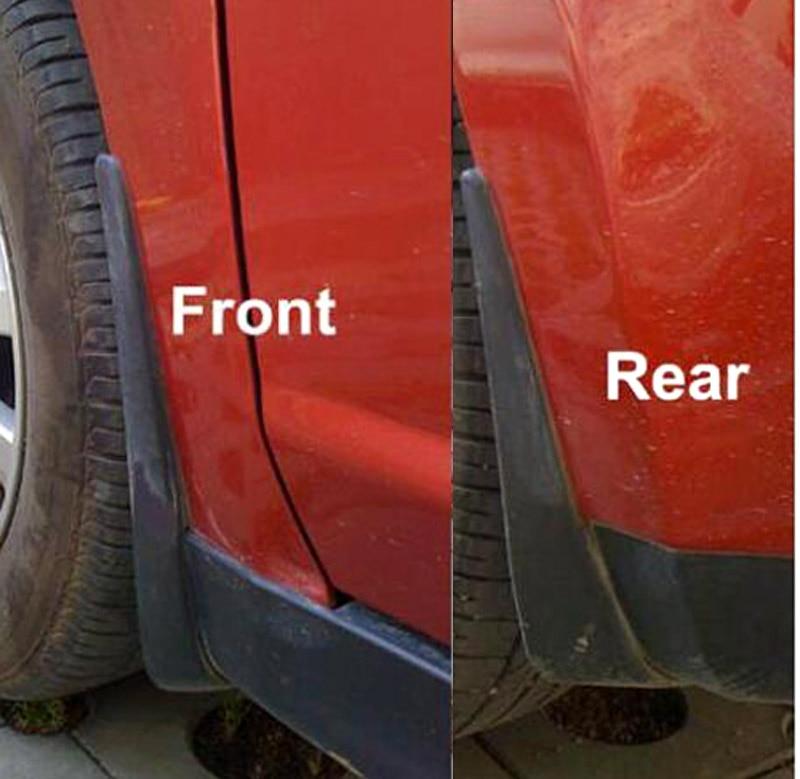 Car Front Rear Mudguards for 2007 2008 2009 2010 2011 Nissan Tiida Versa C11 Latio 2012 Hatchback Mudflaps Fenders Color Name: One Set