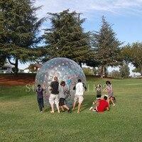 Бесплатная доставка 2,5 м снаружи 1,5 м внутри надувные тела Zorb, Зорб шарик воды, большой шар Зорб для продажи